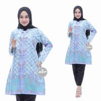 Baju Atasan Wanita|Tunik Batik Modern|Blous Batik Kantor