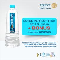 Perfect Alkaline Water 1 Liter Minimal 6 dus