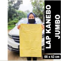 Kain Lap Chamois Kanebo Jumbo XXL Extra Besar 64x32cm