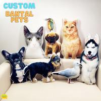 Custom Bantal Pets 3D Custom Pet Pillow Custom Bantal 3D Peliharaan