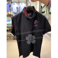 Giordano Polo Shirt Tapered Fit Signature Black Limited Edition New