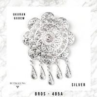 Bros Kebaya Kutubaru Etnik 485 - 485A Silver
