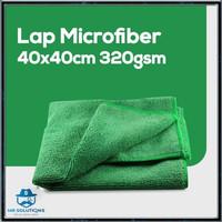 Kain Lap Microfiber Serba Guna Mobil dan Sepatu Dapur dua sisi