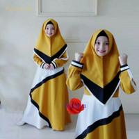 Baju Muslim Gamis Anak Perempuan By Chana Usia 7-9 Tahun Terbaru (COD)