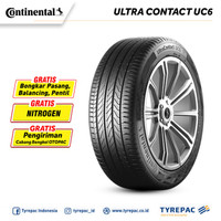 Ban Mobil Continental Ultra Contact UC6 195/50 R16