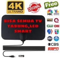 Antena TV Digital DVB-T2 4k High Gain 25-Db Tfl-D139 Original Taffware