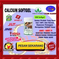 Green World Calcium Softgel - Perawatan Tulang