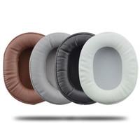 Oval Foam Pad Busa For ATH MSR7 M50X Sony MDR V6 7506 1RBT 1A - Putih