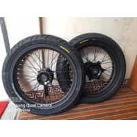 Sepaket WheelSet Velg Set Ban Set Roda Set Supermoto Honda CRF 150 L