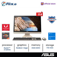 ASUS M241DAK-BA341T WA341T AIO 23.8 Ryzen™ 3-3250U 4GB 1TB Win 10