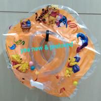 neck ring baby/ban leher bayi karakter pooh lucu / baby swim ring