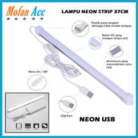 Lampu Neon USB Strip Lampu Baca Lampu Kamar Lampu Dapur 37 cm