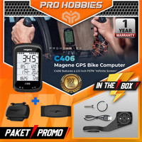 Magene C406 GPS Bike Meter Heart Rate Bike Computer Wireless MTB Road