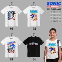 Kaos | Baju Anak | SONIC THE HEDGEHOG 02