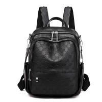 Tas Ransel Wanita YRF SERIES - Backpack Import Batam Murah ORI Modern - Hitam