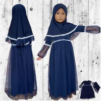 Gamis anak Muslim Perempuan  Baju Gamis Pesta Terbaru..usia ( 1-6th