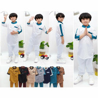 baju koko anak laki laki terbaru 1 2 3 4 5 6 7 tahun/Baju lebaran