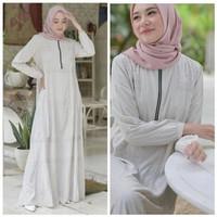 Baju Gamis Syari Terbaru/ Gamis Lebaran Ori Ayuka Winda Busui Premium