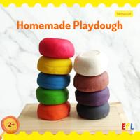 Montessori Homemade Playdough 100gr