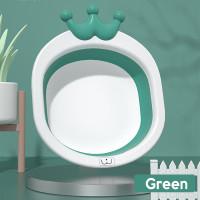 SUNXIN - BABY SAFE Foldable Wash Basin -2114/ Wastafel Anak - Hijau
