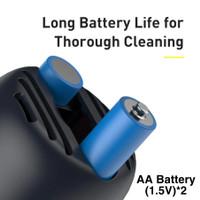 Baseus Vacuum Cleaner MINI Cleaning Desktop Capsule Cordless Portable - AA Battery