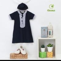 Baju Muslim Bayi Laki-laki Kaos Katun/ Baju Gamis Bayi by Ozuka