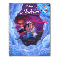 Buku Cerita Anak Disney Aladdin Hard Cover Story Book Bergerak 3D