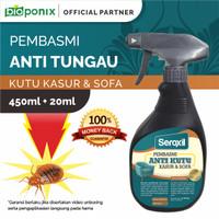 Pembasmi Anti Tungau-Hama Kutu Kasur & Anti Bakteri 450ml (Seroxil)