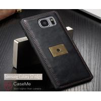 Case Samsung S7 Edge Leather Caseme Bumper Soft Case Back Cover Tpu