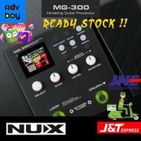 NUX MG300 Efek Gitar NUX MG 300 Modeling Guitar Processor Effect Pedal