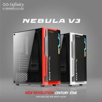 Casing Infinity Nebula V3 ATX Gaming PC Case