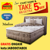 Kasur Springbed Spring Air - NEW MADISON Back Supporter - Spring Air