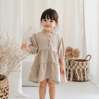 Willow Dress | Baju Set Lebaran Dress Anak Little Folk