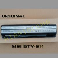 Baterai MSI CR650 CX650 FR400 FX400 FX420 GE60 BTY-S14 ORIGINAL 6CELL