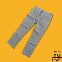CELANA PRIA DAN UNISEX ANKLE PAMTS SECOND I CH63 bukan uniqlo hickory