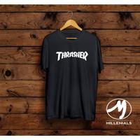 T-shirt Thrasher/ Baju Kaos Distro Pria Thrasher Pendek Trend Kekinian