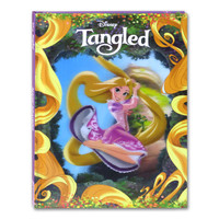 Tangled Story Book 3D cover buku cerita disney princess rapunzel