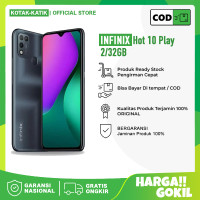INFINIX HOT 10 PLAY 2/32 GB RAM 2GB INTERNAL 32GB - GARANSI RESMI