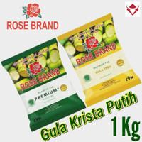 Gula Pasir Crystal. Rose Brand 1Kg.
