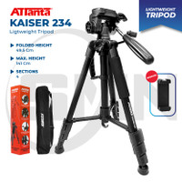 Tripod camera dslr attanta kaiser 234 + bag / tripod video
