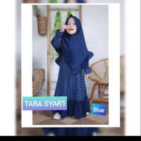 TARA Kids Baju Muslim Gamis Anak Perempuan Usia 2-3-4 Tahun