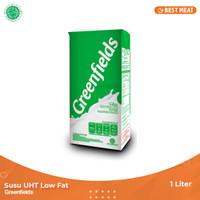 Susu Greenfields UHT Low Fat / Rendah Lemak 1000 ml (1liter)