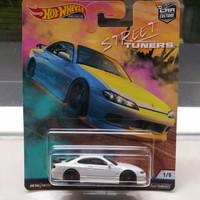 Hotwheels Silvia S15 Street Tuners White Putih Tuner