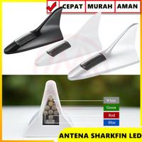 ANTENA SIRIP HIU LED SHARK FIN LED RGB ANTENA HYBRID TENAGA SURYA LED