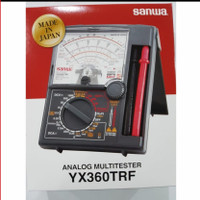 multitester sanwa yx360trf ori japan analog multimeter avometer tester