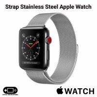 Strap Stainless Steel Apple Watch 1 2 3 4 5 6 SE 38mm 40mm 42mm 44mm I