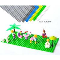 Brick Papan LEGO 16 x 32 Dots - Baseplate Brick Mainan (Lego Stand)