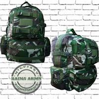 tas ransel army tas punggung gultor besar loreng tni malpinas