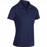 Artengo Polo Shirt Tenis, Pakaian Tenis Wanita - Biru, XS