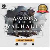 Assassins Creed Valhalla Ultimate PC - Original Ubisoft Sharing